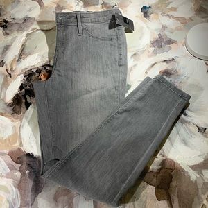NWT MOSSIMO HIGH RISE JEGGING GREY Size 6/28R Gray